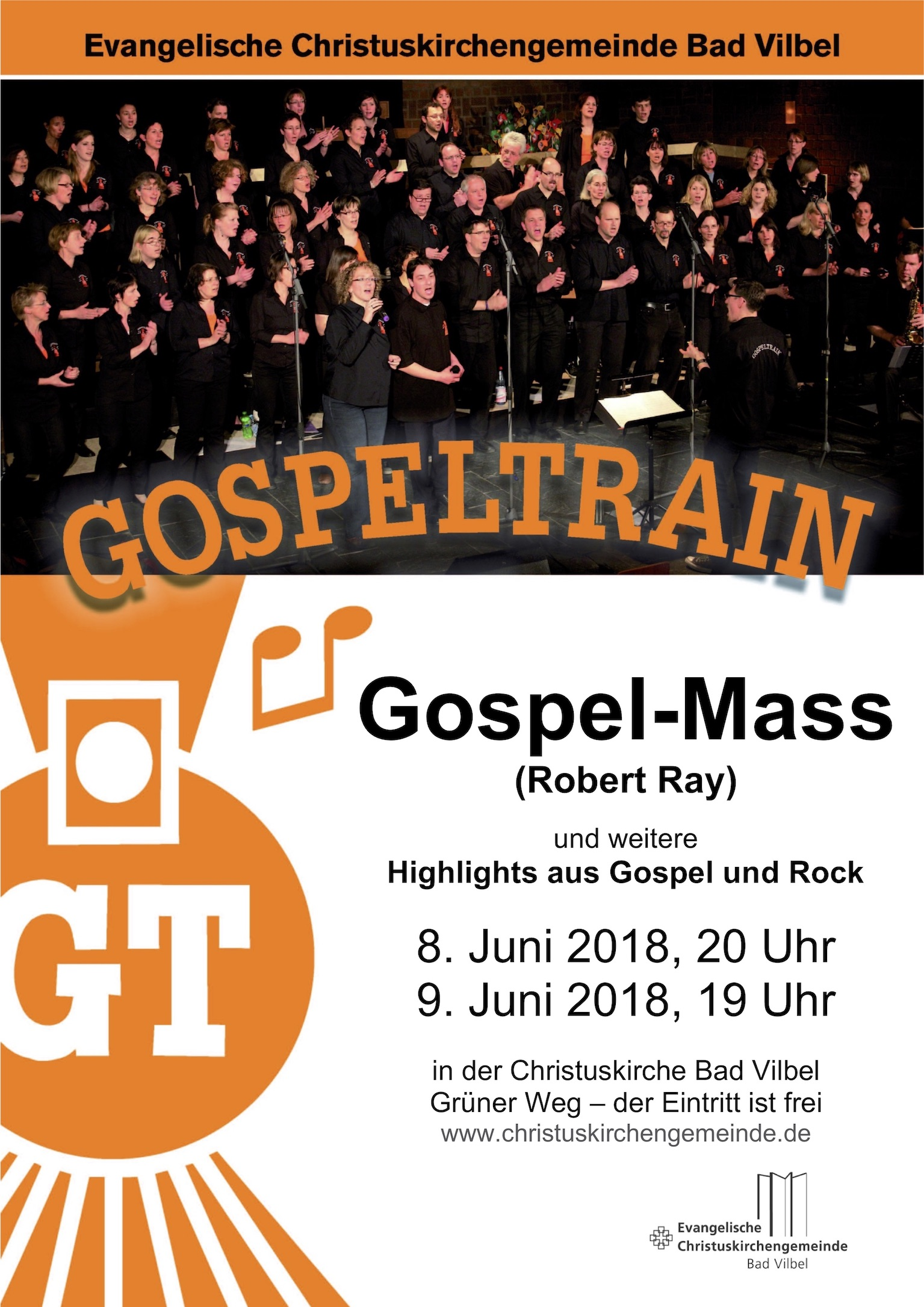 Plakat Gospel Mass 2018